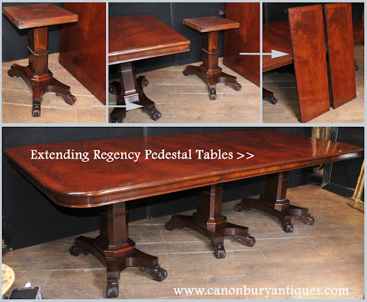 Canonbury - Extending Regency Dining Tables