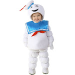 Ghostbusters Stay Puft Child Halloween Costume, Kids Unisex