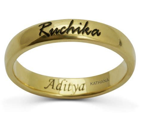 Brilliant engagement rings name engraved   Matvuk.Com
