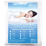 """Allergy Store Allersoft Mattress Covers Hospital Full 9"""" Deep, Cotton 