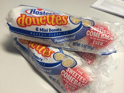 Consumers complain Hostess powdered donettes smell and taste like chemicals