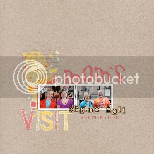 Mom's Visit Spring 2011 - Cover