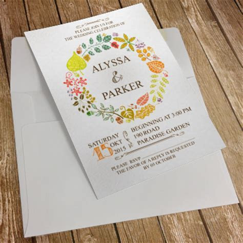 Invitation Card   A5   Smod Designs and Prints