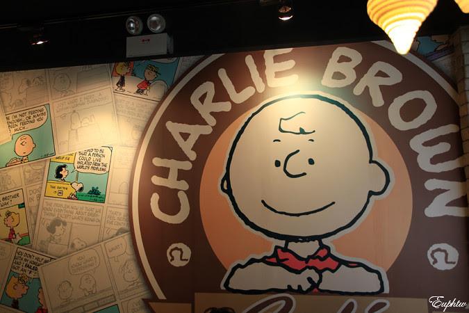 蔚藍手札: Charlie Brown Café @ 尖沙咀
