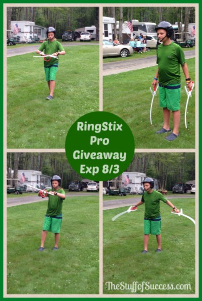 Enter the RingStix Pro Giveaway. Ends 8/3.