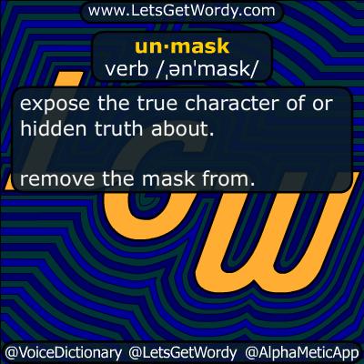 unmask 04/04/2017 GFX Definition
