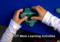 Ejercicios de Kindergarten a mano el ejercicio plastilina 2