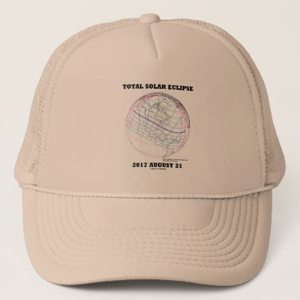 Total Solar Eclipse 2017 August 21 North America Trucker Hat