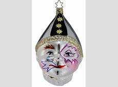 Harlequin   Inge Glas Ornaments, Authentic German Christmas Ornaments