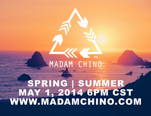 {WEB RELEASE} MADAM CHINO SPRING | SUMMER 2014