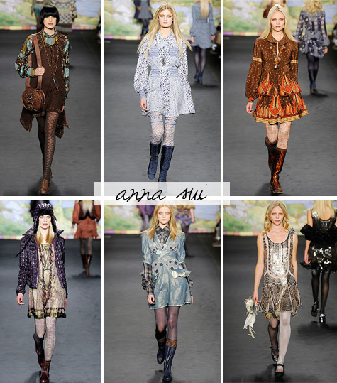 anna sui fall 2010 ready to wear collection from new york fashion week