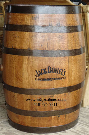 Whiskey Barrels Wood Ridge Cabinet