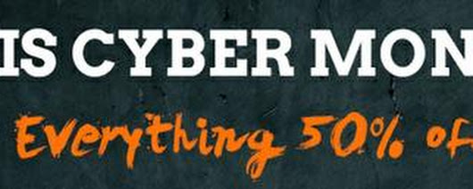 Cyber Monday Deals - Save 50% Today!