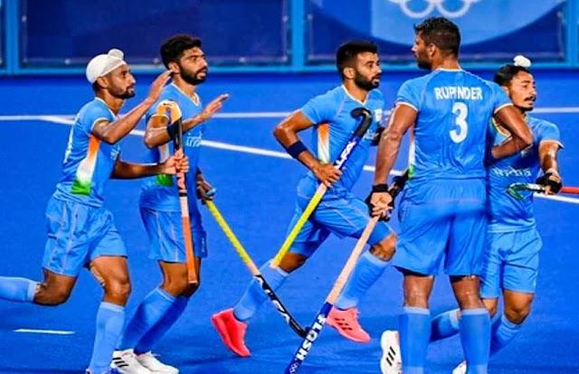 Tokyo Olympic 2020: भारतीय पुरुष हॉकी टीम ने जापान को दी 5-3 से मात, ऑस्ट्रेलिया के बाद दूसरे स्थान पर पहुंचीं
