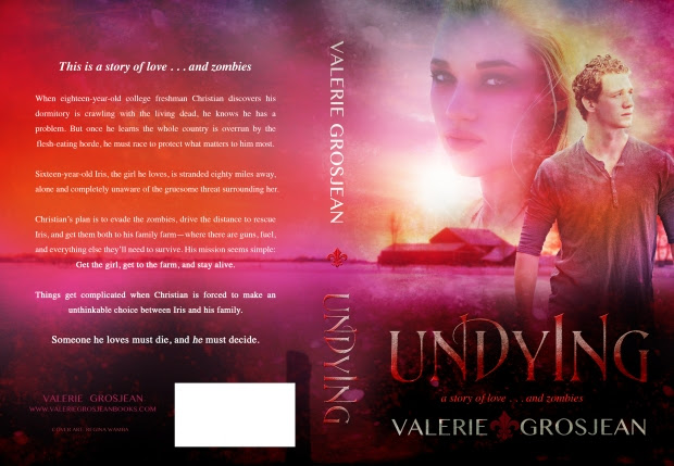 Cover Reveal for UNDYING by Valerie Grosjean