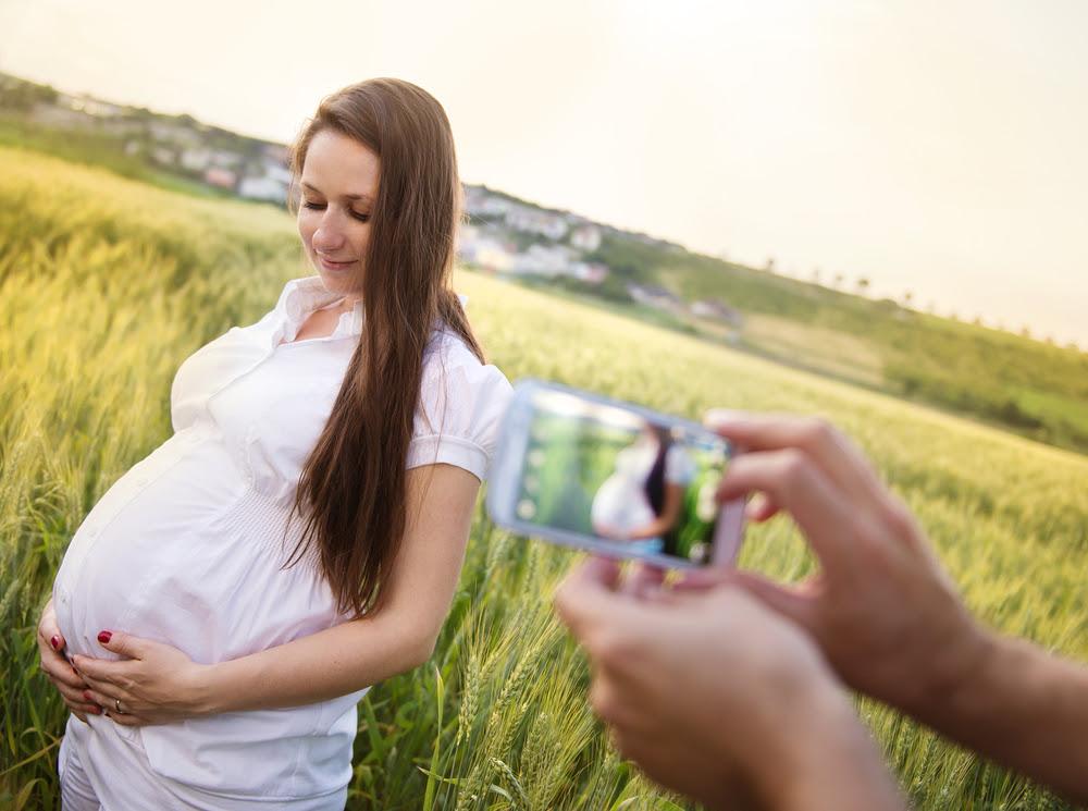 Papa Tomale Fotos A Tu Mujer Embarazada O Lo Lamentaras