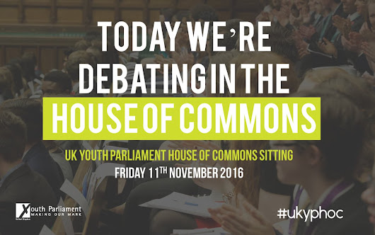 "UK Youth Parliament on Twitter: ""978,912 young people have told us what their top issues are. Now we're going to debate them. #UKYPHoC  """