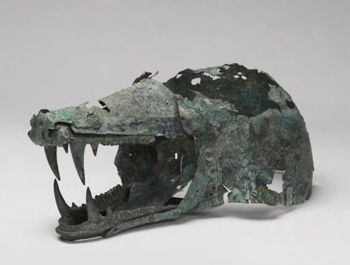 Dido of Carthage • museum-of-artifacts: Wolf's Head Helmet, 6th-5th...