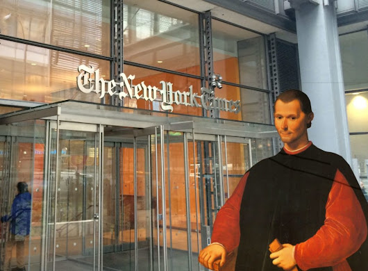 Deploying Machiavelli in the 'War on Media' | AnthonyGanzer.com
