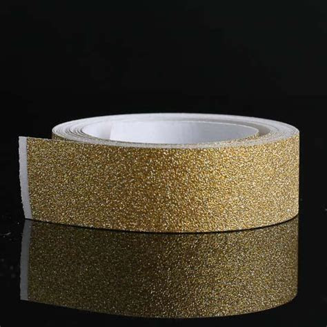 Gold Sparkle Glitter Tape   Paper Crafting   Craft Supplies