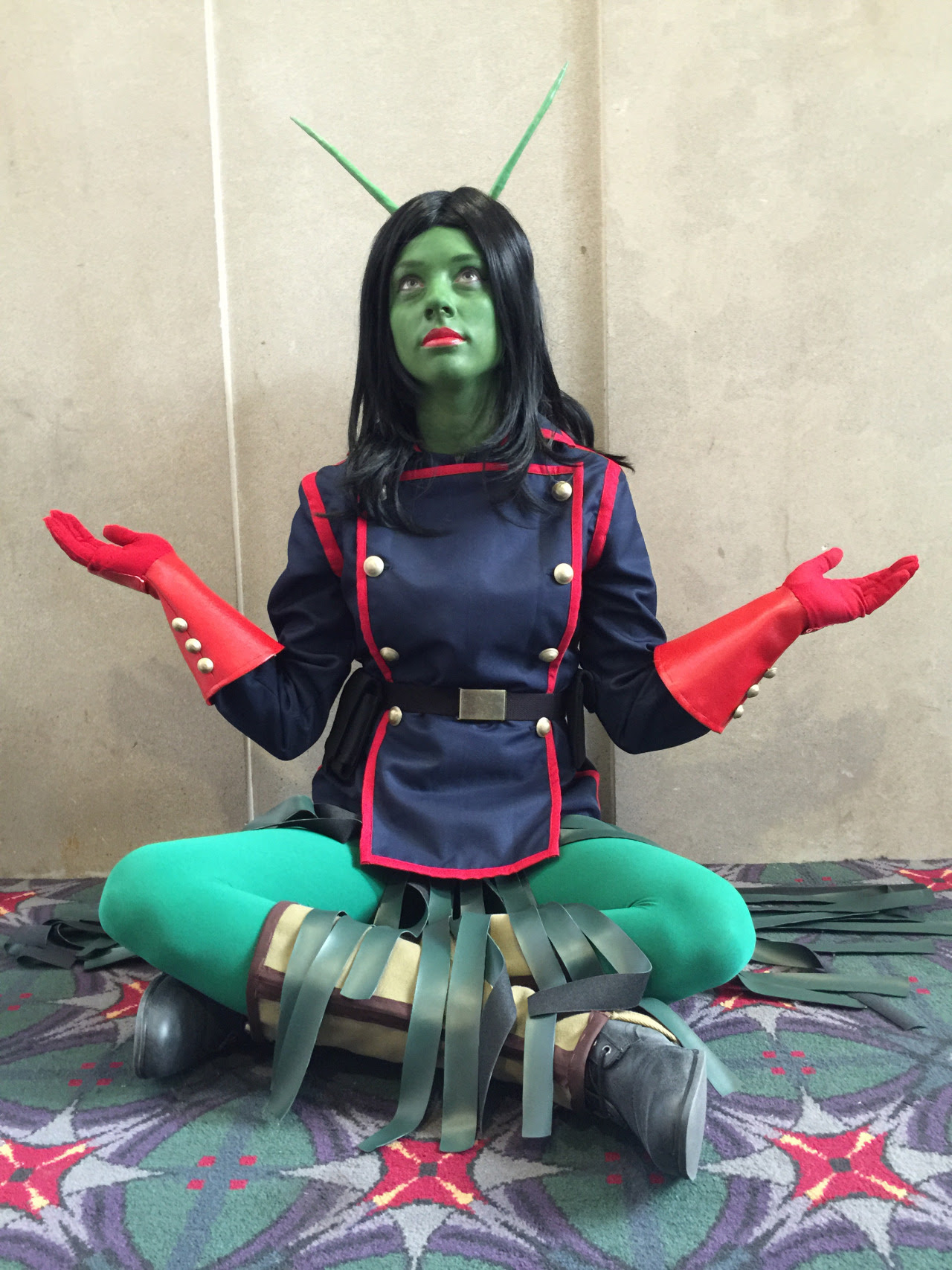 comicbookcosplay:  Mantis, The Guardians of the Galaxy facebook.com/kittenanddragonPhoto taken by my sister!Submitted by  Megan