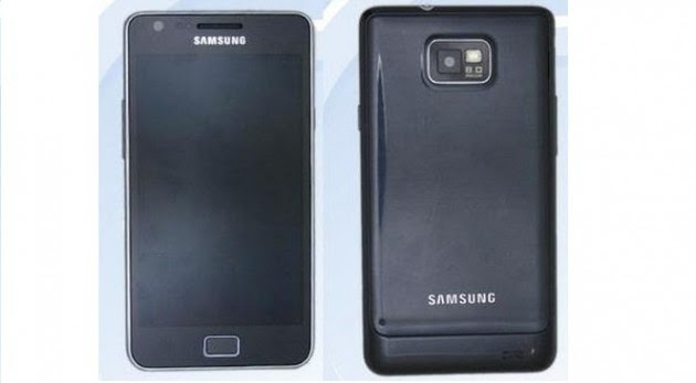 Samsung Galaxy S II Plus si mostra in foto