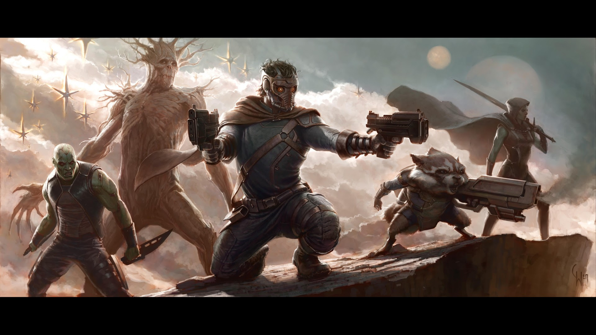 1920x1080 Guardians Of The Galaxy Characters Desktop Pc And Mac