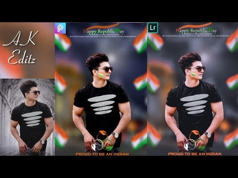 PicsArt Special 26 January Happy Republic Day 2019 Photo Editing tutoria...