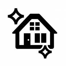 家シルエット イラストの無料ダウンロードサイトシルエットac