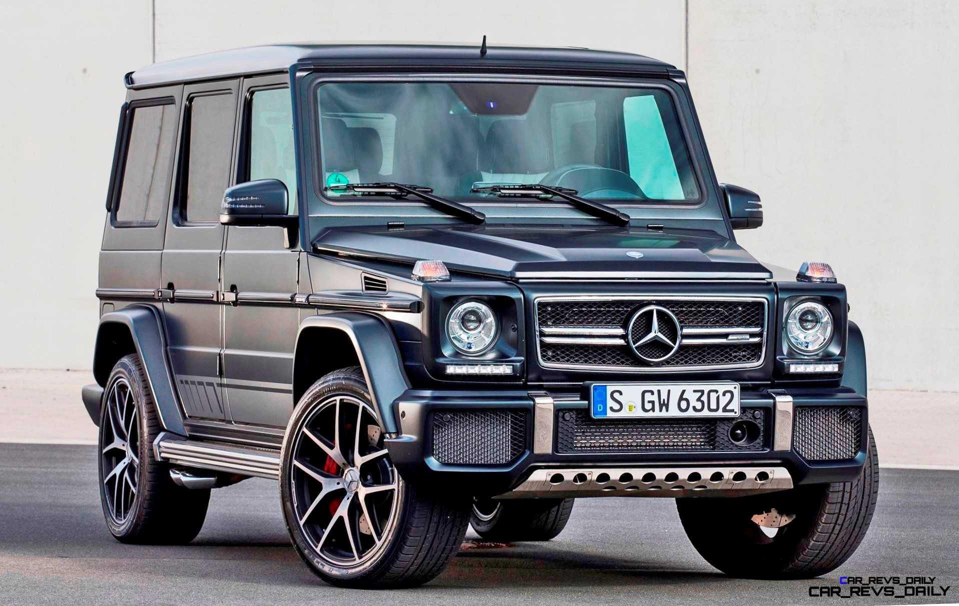 2016 Mercedes-Benz G500 and G63