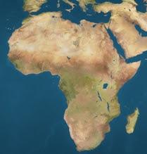 Africa locator map