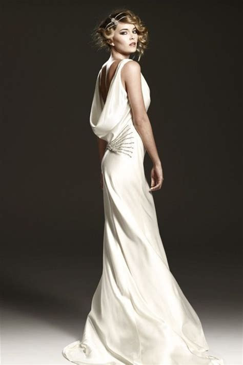 1930's Style Wedding Dresses   Bride Ideas #wedding