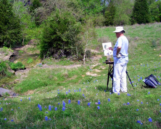 Not Too Early to Plan Painting Bluebonnets in Texas | OutdoorPainter