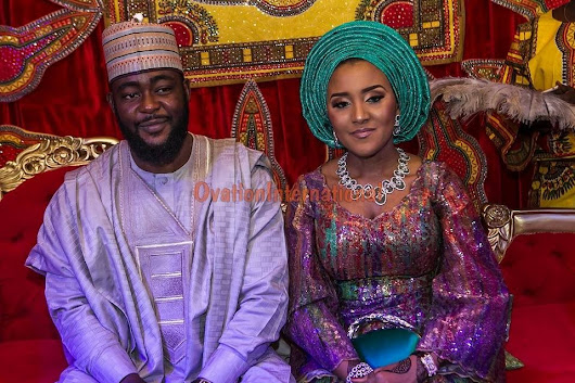 PHOTOS: Daughter of Africa's richest man, Fatima Aliko Dangote marries in Kano - AmeyawDebrah.Com