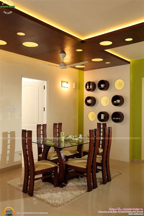 kerala flat interior design kerala home design  floor