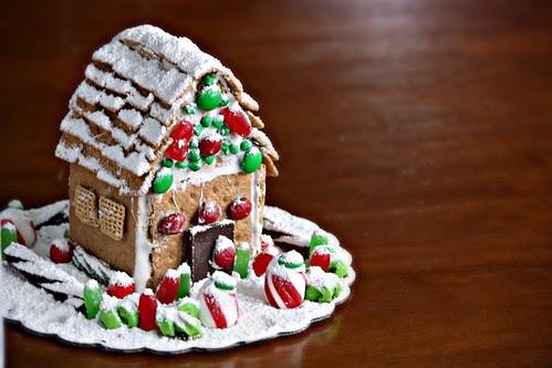 Art Of Dessert Graham Cracker Gingerbread House With