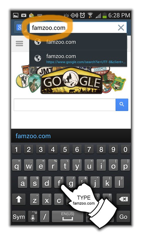 2) Visit FamZoo.com