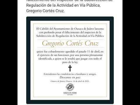 Fallece inspector Municipal