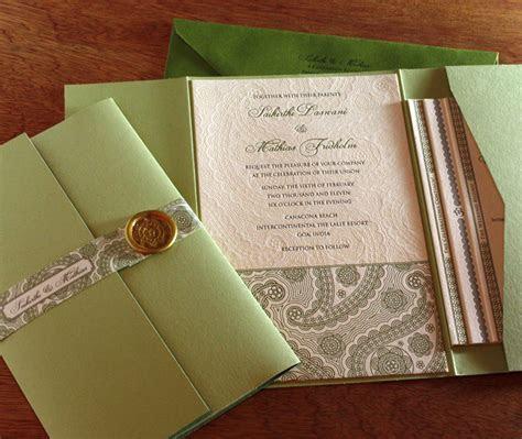 Pocket Folders for Wedding Invitation Suites   Invitations