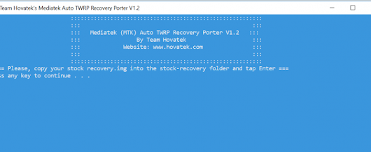 MTK Auto TWRP porter v1.2 (beta): Oreo & Go Edition support
