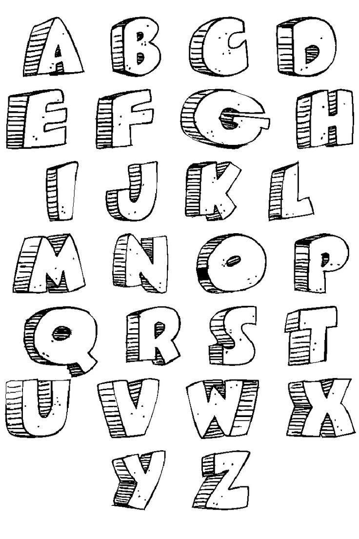 Lettering Printable - Scalien