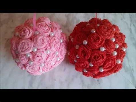 Decorative flower balls. How to make wedding pomander