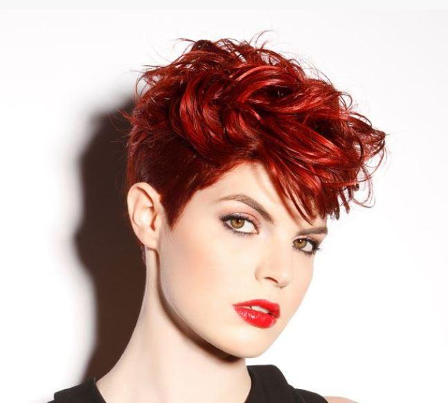 Sedurre coi capelli corti Tagli di capelli e Acconciature - capelli corti femminili e sensuali