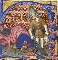 Brevier des Martin von Aragon, 14. Jahrhundert: Die Enthauptung Johannes' des Täufers