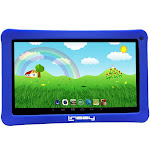"LINSAY 10.1"" Kids Android Tablet HD Quad Core Bundle w/ Kids Defender Case (NEW) New Blue 16GB 10.1 Inches (F10XHDKIDSBLUE)"
