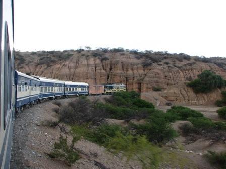 Solución parcial para los viajes en tren en Bolivia