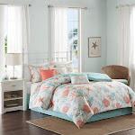 Madison Park Pebble Beach 7 Piece Comforter Set - MP10-2704 Queen