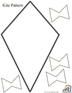 Kite Template For Kids Printable - ClipArt Best