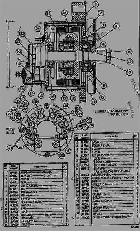 8L5410 ALTERNATOR ASSEMBLY - ENGINE - GENERATOR SET
