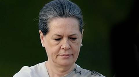 "Sonia termed the meeting with the president a ""routine courtesy call"". (Source: PTI)"